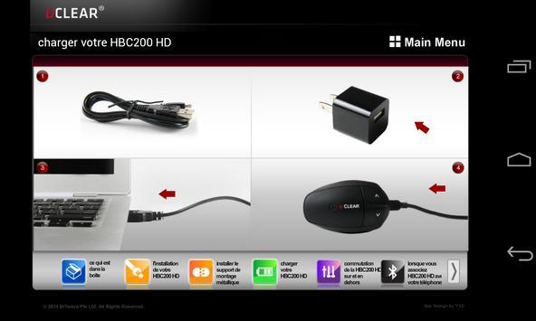 UCLEAR HBC200 HD French apk screenshot