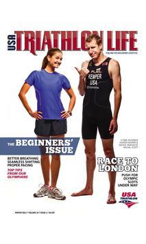 USA Triathlon Magazine poster
