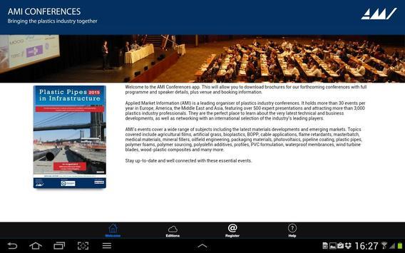 AMI Plastics Conferences apk screenshot
