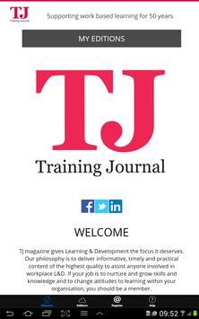 Training Journal apk screenshot