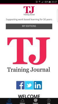 Training Journal poster