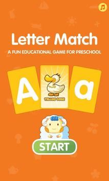 Letter Match Flash Cards poster