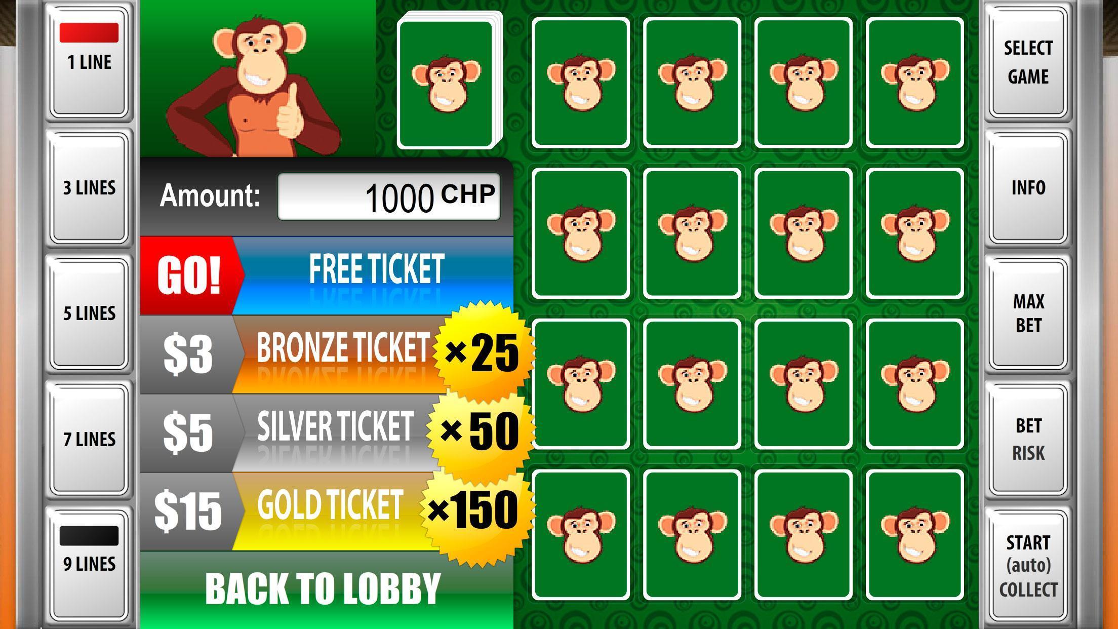 Игра обезьяна в автоматах