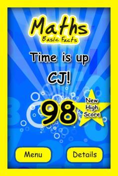 Maths Basic Facts apk screenshot