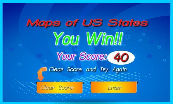 US States Map Quiz For Fun APK Download Free Educational GAME - Us map quiz type states