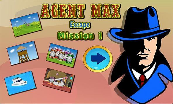 Agent Max Escape Mission 1 poster
