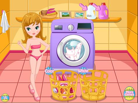 Baby Easter Egg Laundry screenshot 2