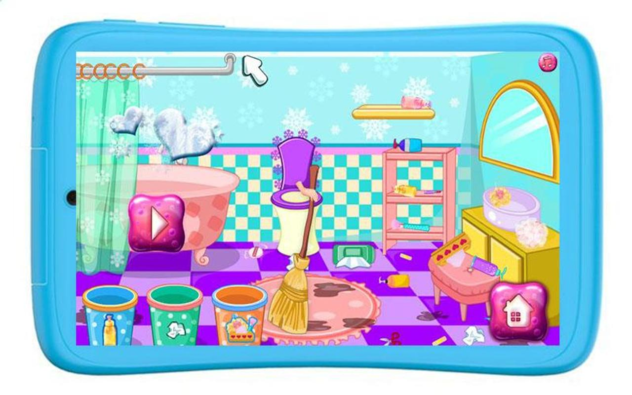 Bathroom Cleaning Games Girls For Android Apk Download