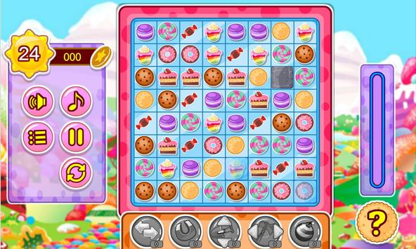 Cake and candy match game screenshot 13