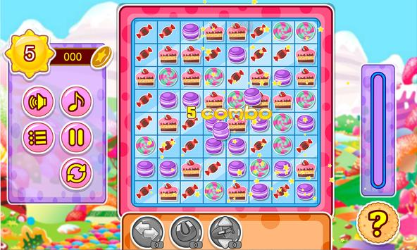 Cake and candy match game screenshot 15