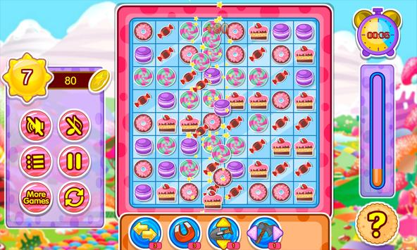 Cake and candy match game screenshot 16