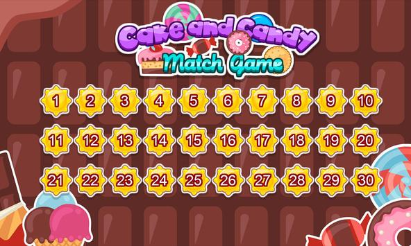 Cake and candy match game screenshot 17