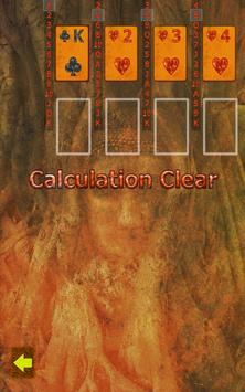 Calculation(solitaire) apk screenshot