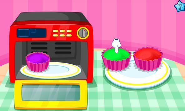 Cooking colorful cupcakes screenshot 3