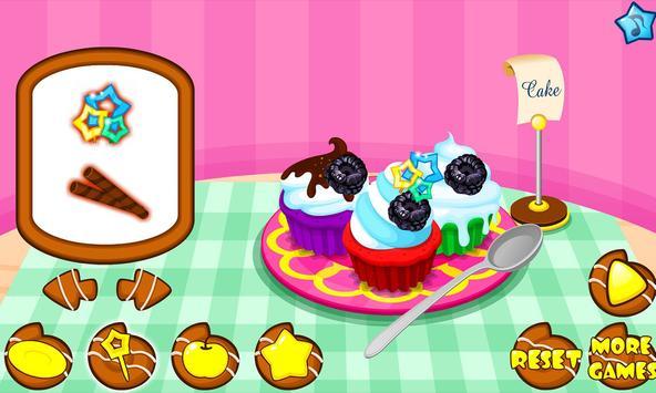 Cooking colorful cupcakes screenshot 20