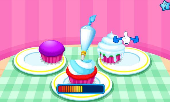 Cooking colorful cupcakes screenshot 5
