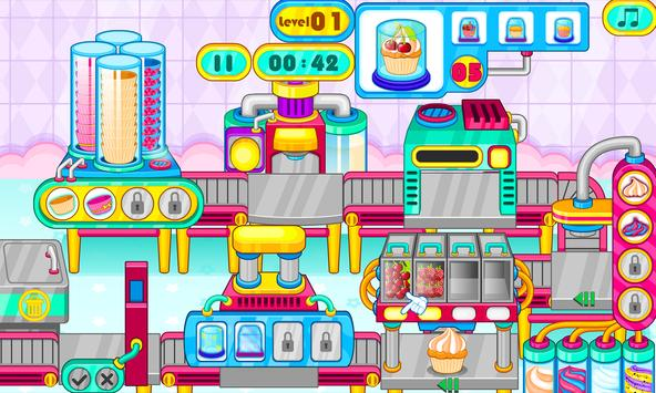 Cooking cupcakes factory screenshot 5
