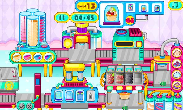 Cooking cupcakes factory screenshot 8