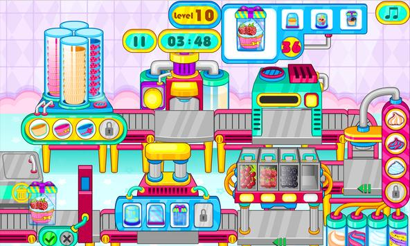Cooking cupcakes factory screenshot 2