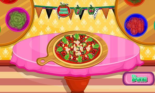 Cooking pizza for dinner apk screenshot