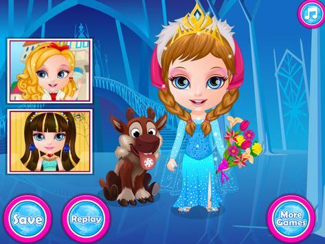Baby Frozen Costumes screenshot 4