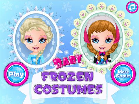 Baby Frozen Costumes screenshot 5