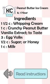 KC Peanut Butter Ice Cream screenshot 1