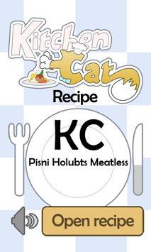 KC Pisni Holubts Meatless poster