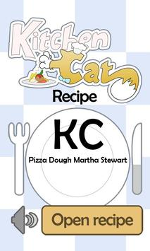 KC Pizza Dough Martha Stewart poster