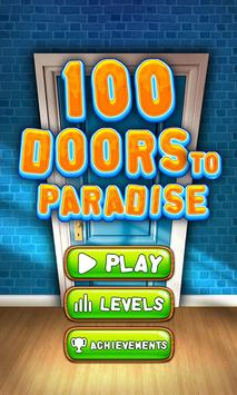 100 Doors to Paradise - Room Escape poster