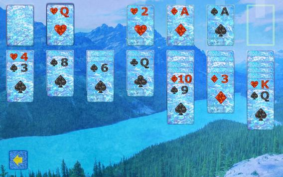 Klondike Solitaire Blue apk screenshot