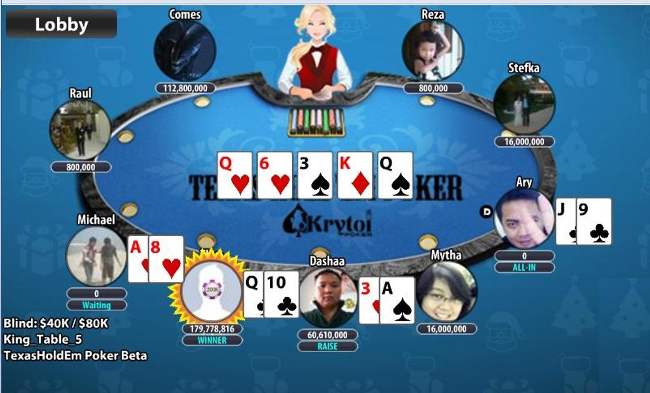 how to play texas holdem poker on facebook with friends