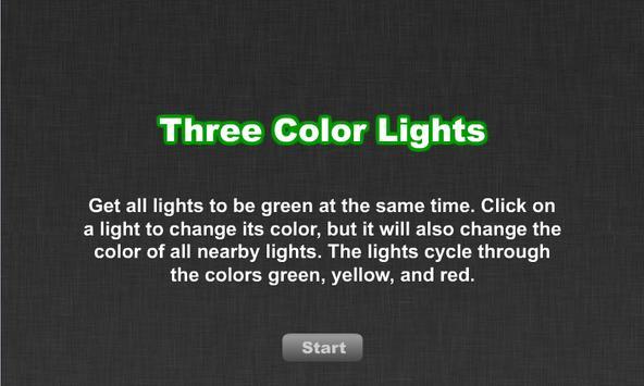 Three Color Lights screenshot 1