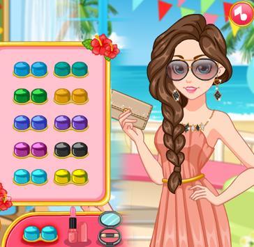 Makeover Summer Celebrity Girl apk screenshot