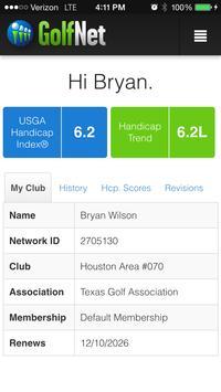GolfNet apk screenshot
