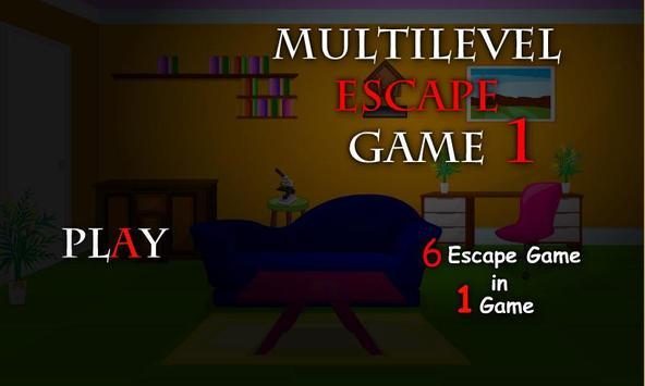 Multilevel Escape Game 1 poster