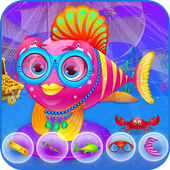 My little baby fish icon