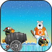 Angry Penguins Adventure - War attack games icon