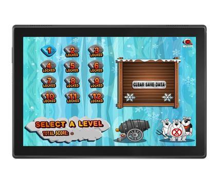 Angry Penguins Adventure - War attack games screenshot 13