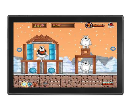 Angry Penguins Adventure - War attack games screenshot 4