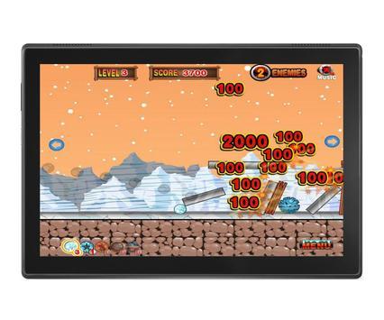 Angry Penguins Adventure - War attack games screenshot 5