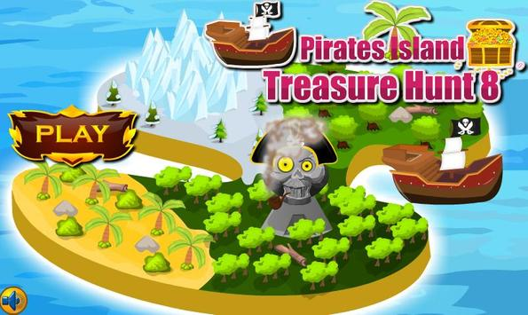 Pirates Island Treasure Hunt 8 poster