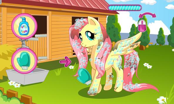 Pony makeover hair salon poster