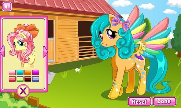 Pony makeover hair salon screenshot 3
