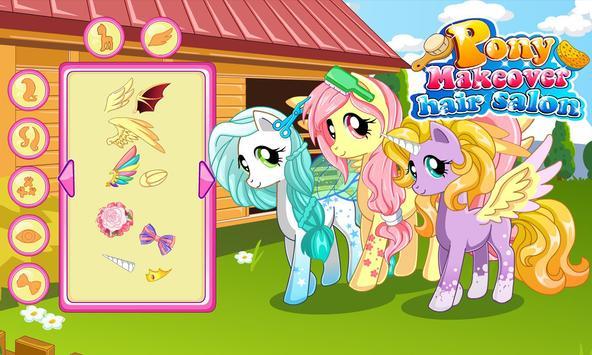 Pony makeover hair salon screenshot 5