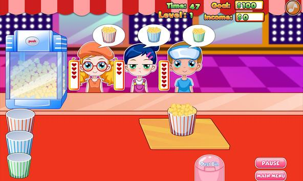 Popcorn maker poster