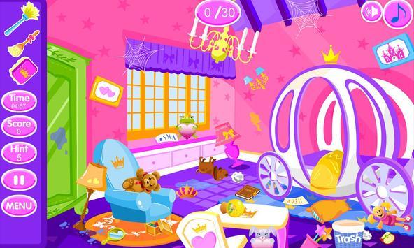 Princess room cleanup screenshot 8