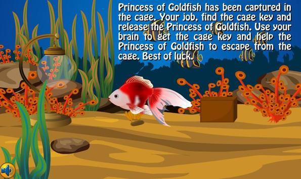 Princess of Goldfish Escape screenshot 1