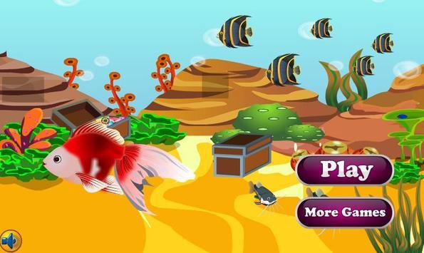 Princess of Goldfish Escape screenshot 5