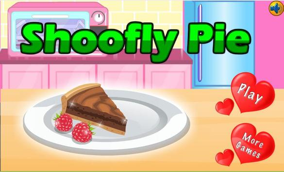 Puzzle Cooking Shoofly Pie poster